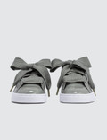 Puma Basket Heart Patent Grey Women
