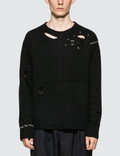 AMBUSH Damaged Knit Sweater Picture