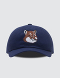 Maison Kitsune Large Fox Head Embroidery 6 Panel Cap Picture