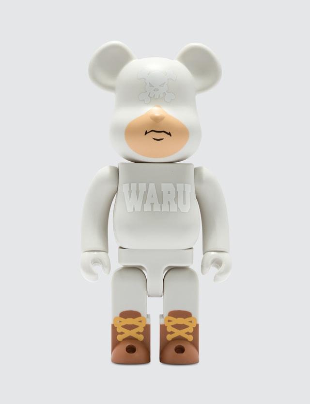 Medicom Toy 400% Tokyo Tribe Waru Be@rbrick (ver. White)