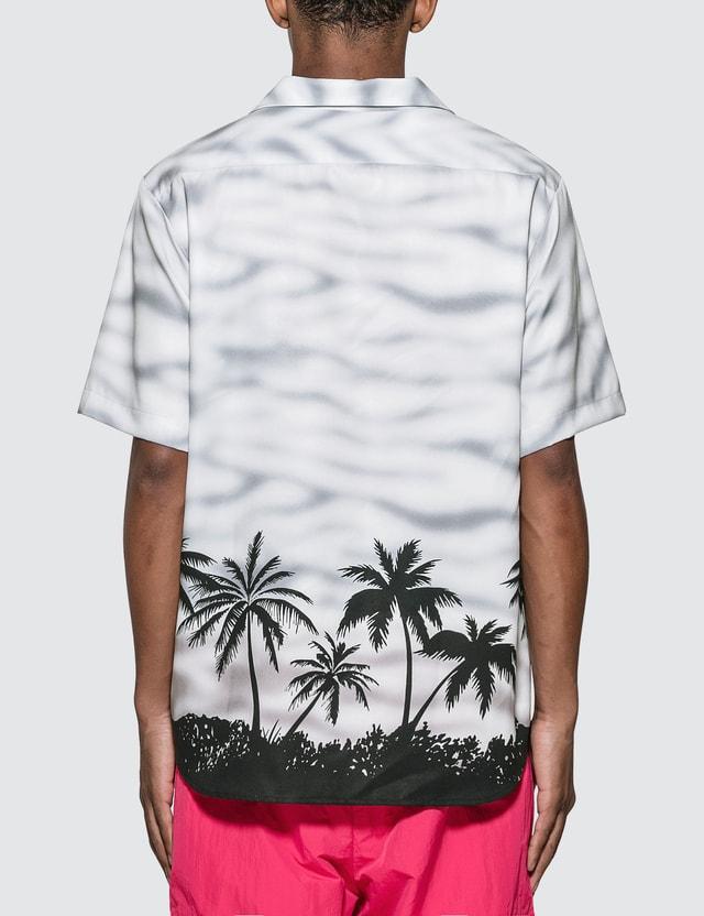 Noon Goons Haleiwa Hawaiian Shirt Silver Men