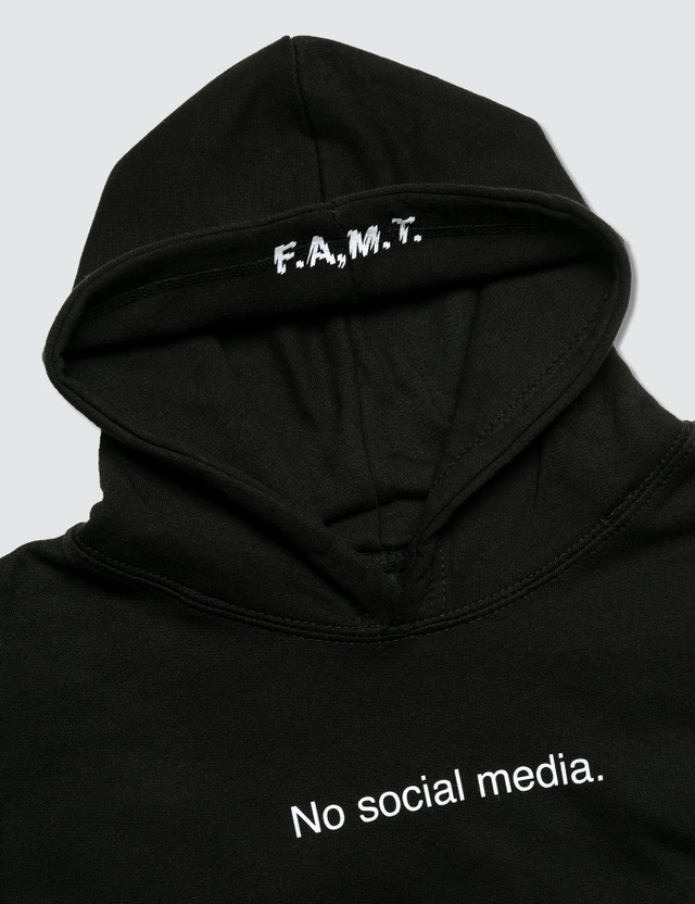 F.A.M.T. No Social Media. Hoodie