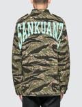 Sankuanz Camo Jacket Green Men