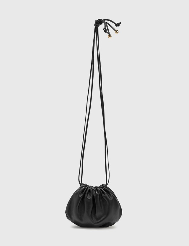 Bottega Veneta The Mini Bulb Black-gold. Women
