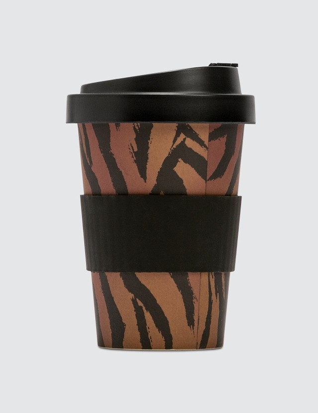 Palm Angels Thermal Coffee Cup Brown White Men
