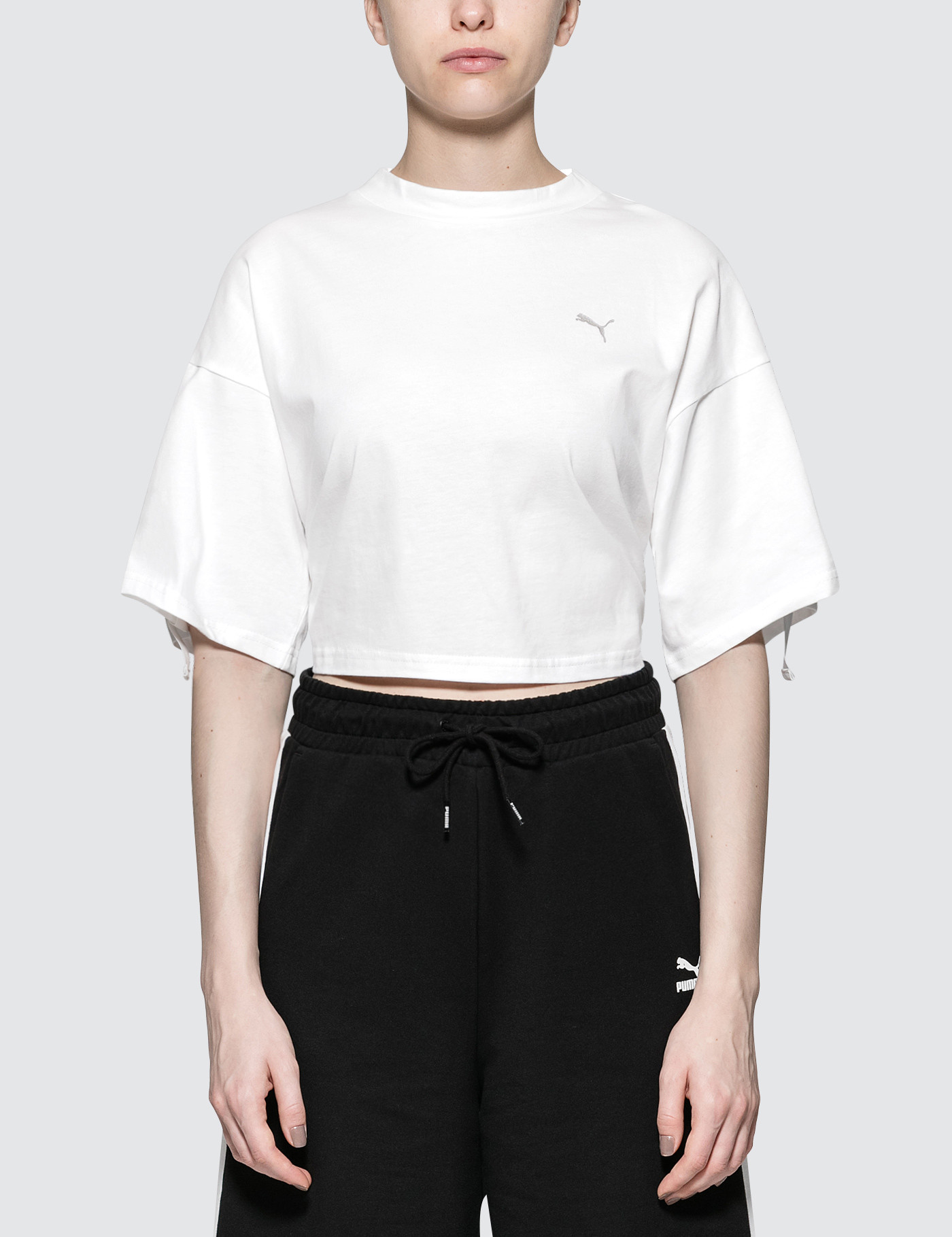 En Pointe Cropped S/S T-Shirt