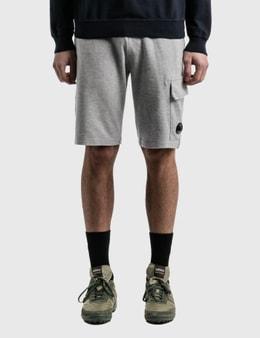 CP Company Lens Pocket Sweat Shorts