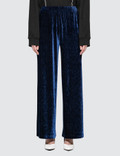MM6 Maison Margiela Smocking Velvet Pants Picture