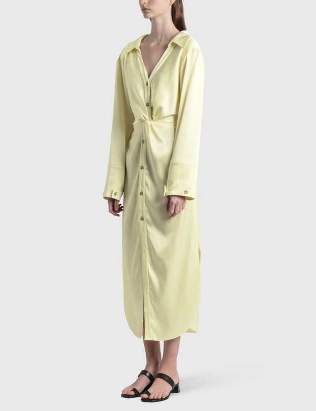 Nanushka Ayse Slip Satin Dress Lumen Women