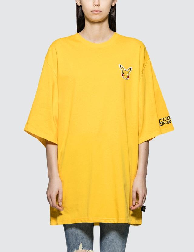 GCDS Pikachu Extra Dress Tee