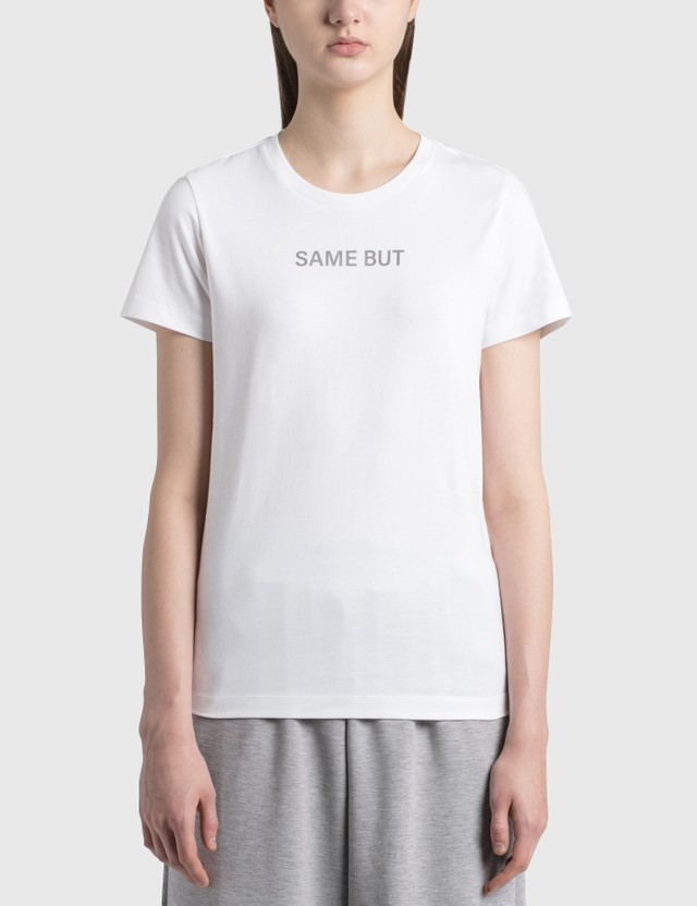 Moncler SAME BUT DIFFERENT T-shirt White Women