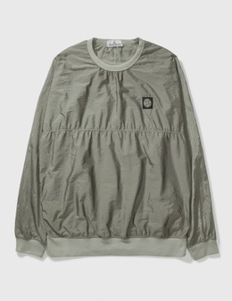 Stone Island Stone Island Ribstop Polyester Long Top