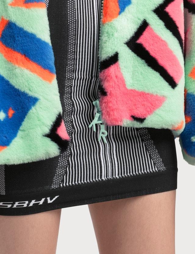 Kirin Kirin Typo Eco Fur Caban