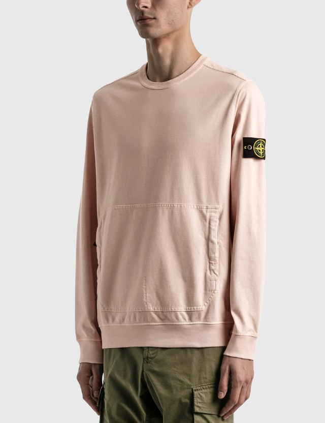 Stone Island Sweatshirt With Large Pocket Antique Men