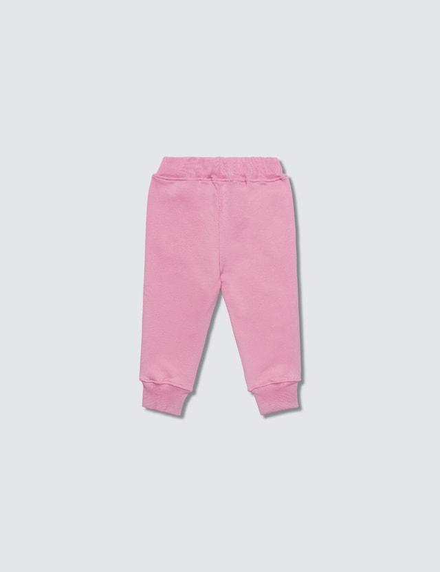 MSGM Pantaloni Felpa Baby Girl Rosa Girls