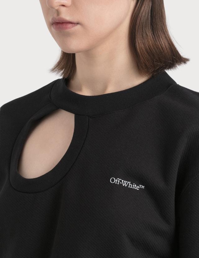 Off-White Cut Here Crewneck Sweatshirt