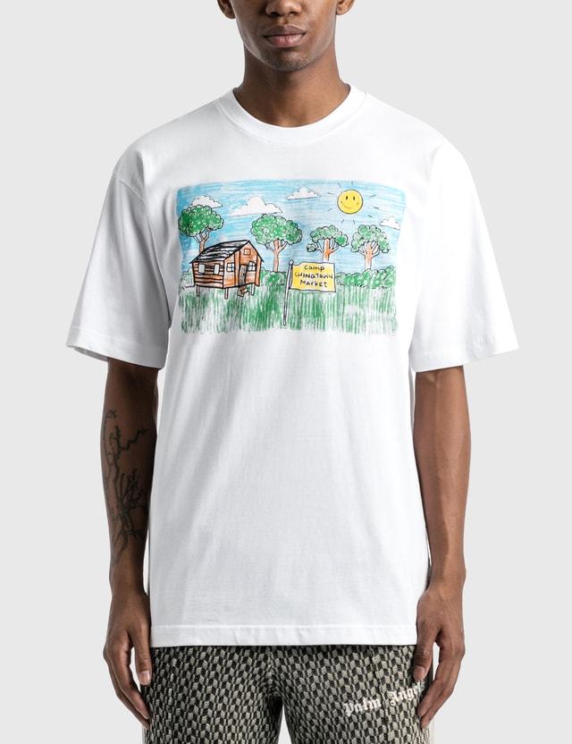 Chinatown Market Smiley Kid Drawing T-Shirt White Men