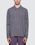 Stussy Cove Striped L/S Shirt Picture
