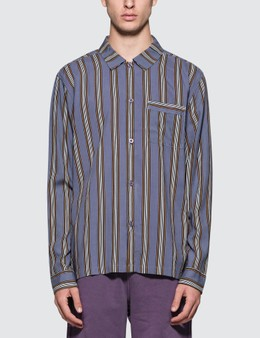 Stussy Cove Striped L/S Shirt