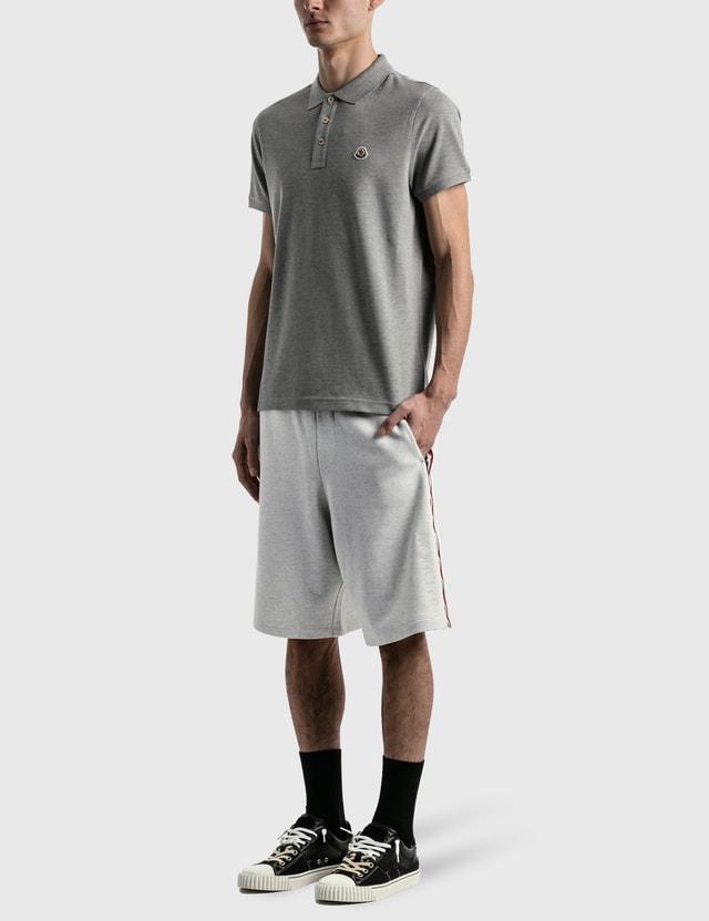 Moncler Maglia Polo Grey Men