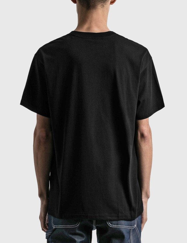 Carhartt Work In Progress Script Embroidery T-shirt Black / White Men