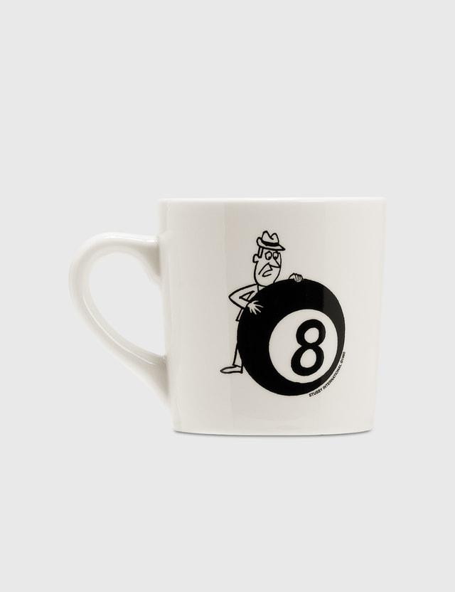 Stussy Behind The 8 Ball Ceramic Mug