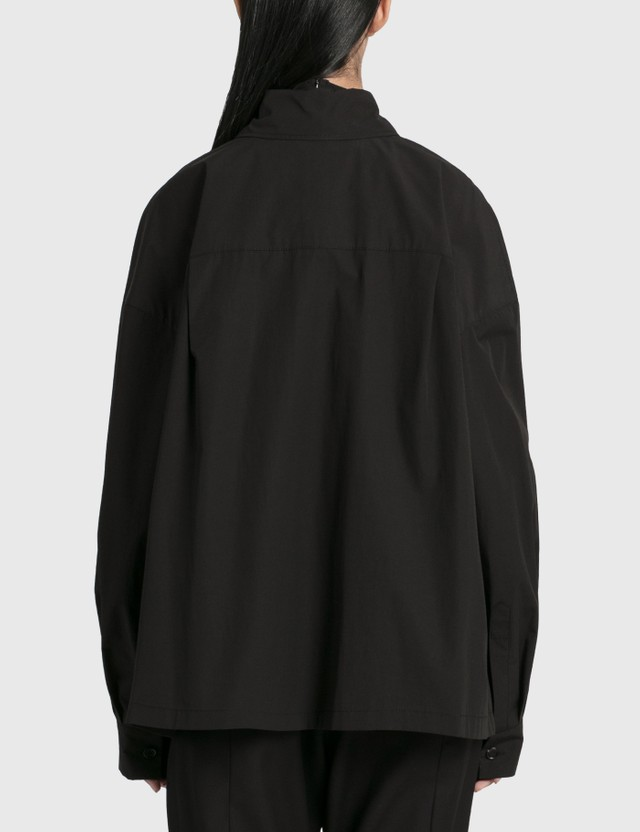 Hyein Seo Hooded Shirt Black Women