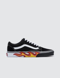 Vans Flame Cut Out Old Skool Picutre