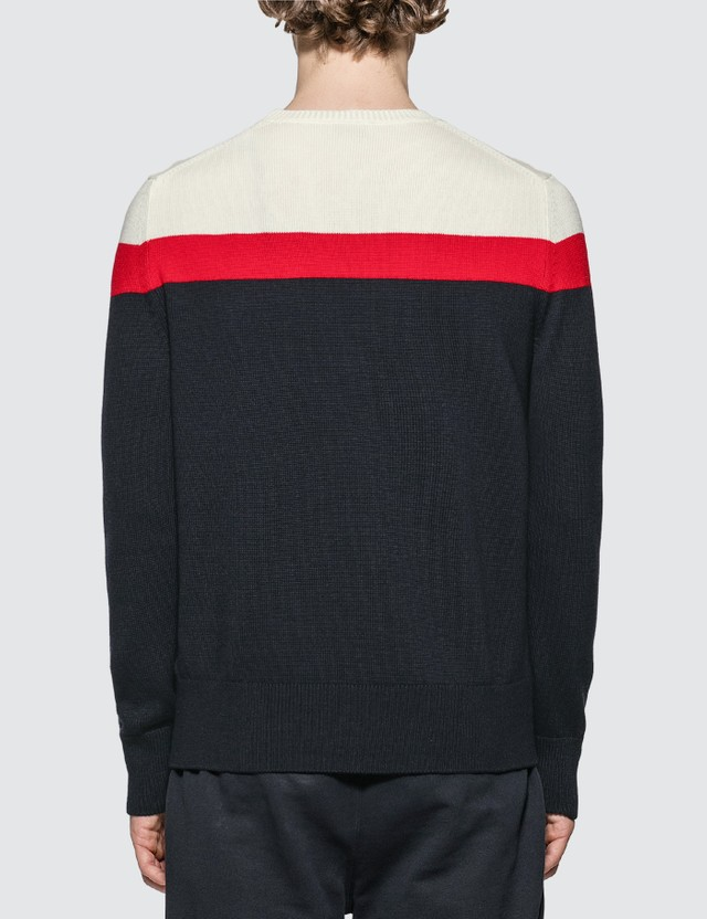 Moncler Stripe Wool Knit