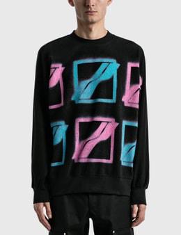 We11done Multi Color Logo Sweatshirt