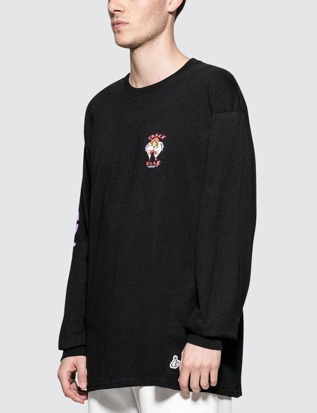 #FR2 Crack Kills L/S T-Shirt