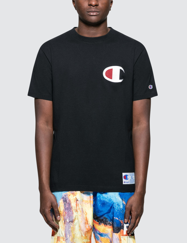 Champion Japan C Logo Embroidery S/S T-Shirt