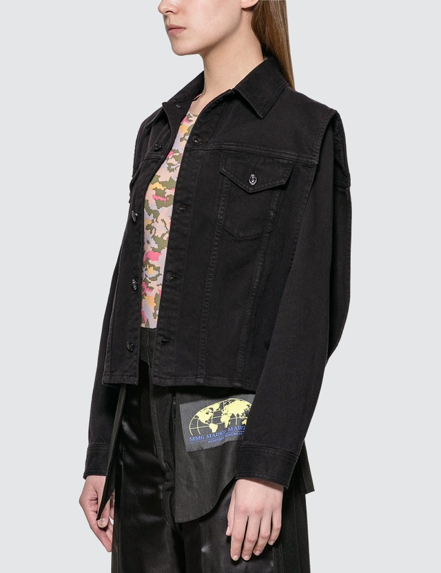 MM6 Maison Margiela Denim Jacket With Removable Sleeve