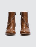 MM6 Maison Margiela Ring Boots Adobe Brown Women