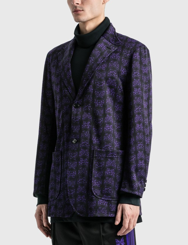 Needles Butterfly Jacquard Poly Jacket =e38 Men