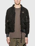 KANGHYUK Readymade Airbag Shrink Bomber Jacket 사진
