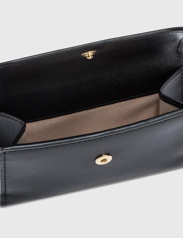 Chloé Chloé C Small Tri-fold Wallet Black Women