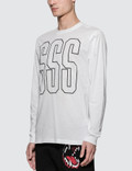 SSS World Corp L/S T-Shirt White Sc3 Men