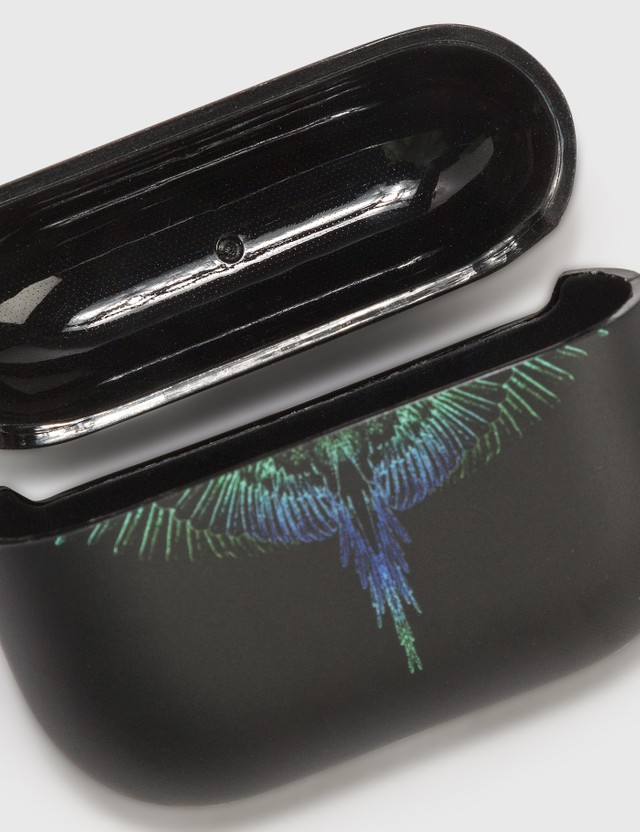 Marcelo Burlon Wings AirPods Pro Case Black Blue Men