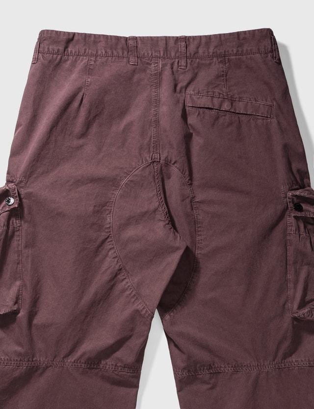Stone Island Cargo Pants Dark Burgundy  Men