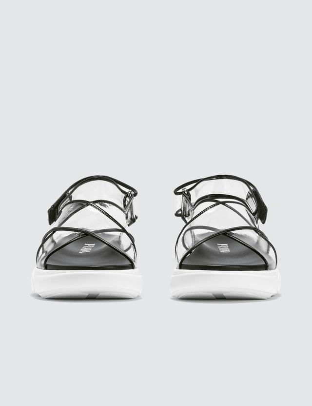 Prada Cloudbust PVC Sandals