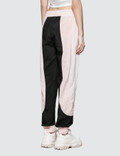 Palm Angels Color Block Track Pants Baby Pink Women