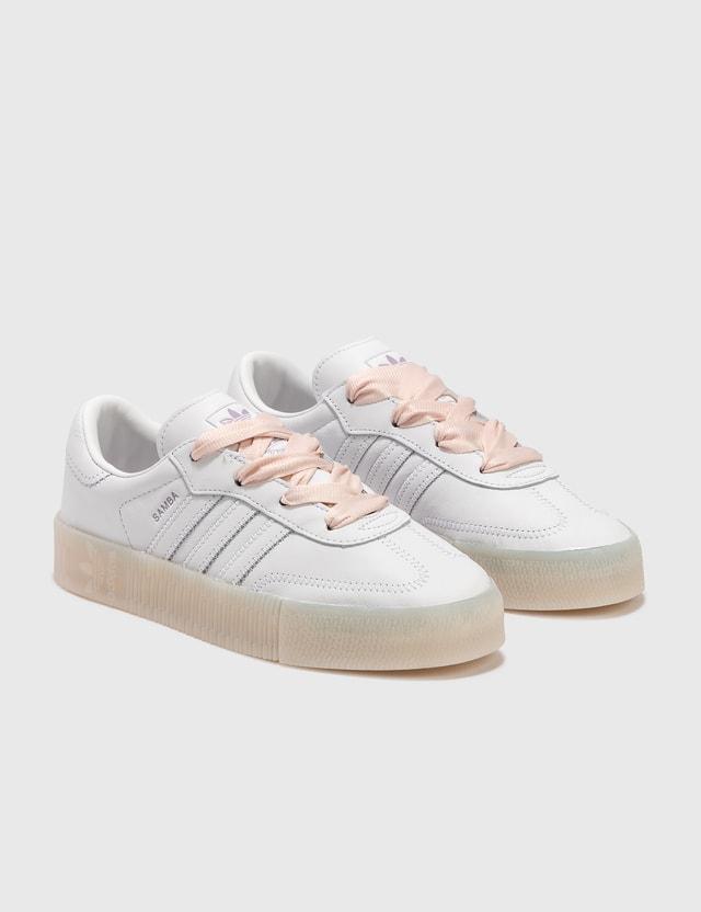 Adidas Originals Sambarose Ftwwht/ftwwht/halpin Women