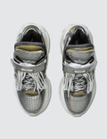 Maison Margiela Retro Fit Low Top Chunky Sneakers Silver Women