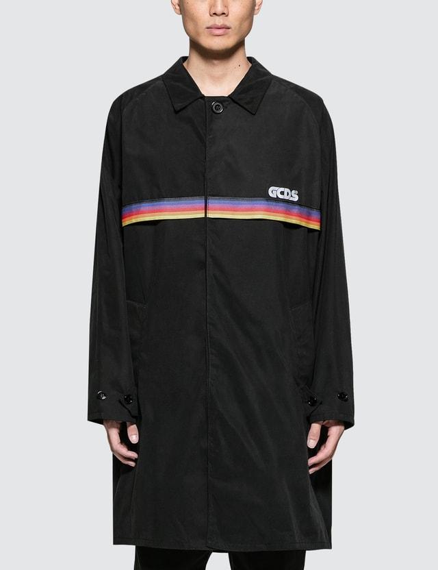 GCDS Rainbow Raincoat