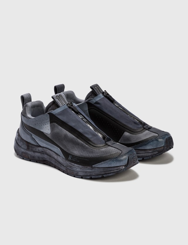 11 By Boris Bidjan Saberi 11 by Boris Bidjan Saberi x Salomon Bamba 2 Low Black Dye 001 - Object Dye Men