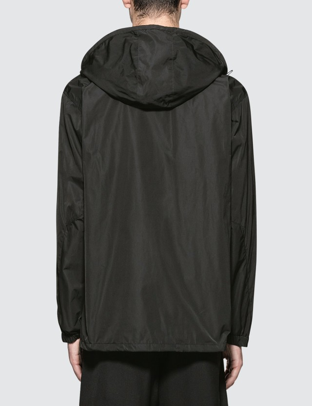 White Mountaineering Wm Logo Printed Hooded Coach Jacket