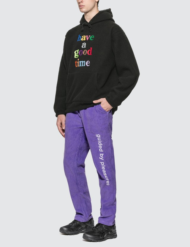 Have A Good Time Colorful Logo Fleece Pullover Hoodie (Set Up)