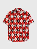 BAPE Bape Diamond Print Short Sleeves Shirt Picture