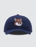 Maison Kitsune 6P Large Fox Head Embroidery Cap Picutre